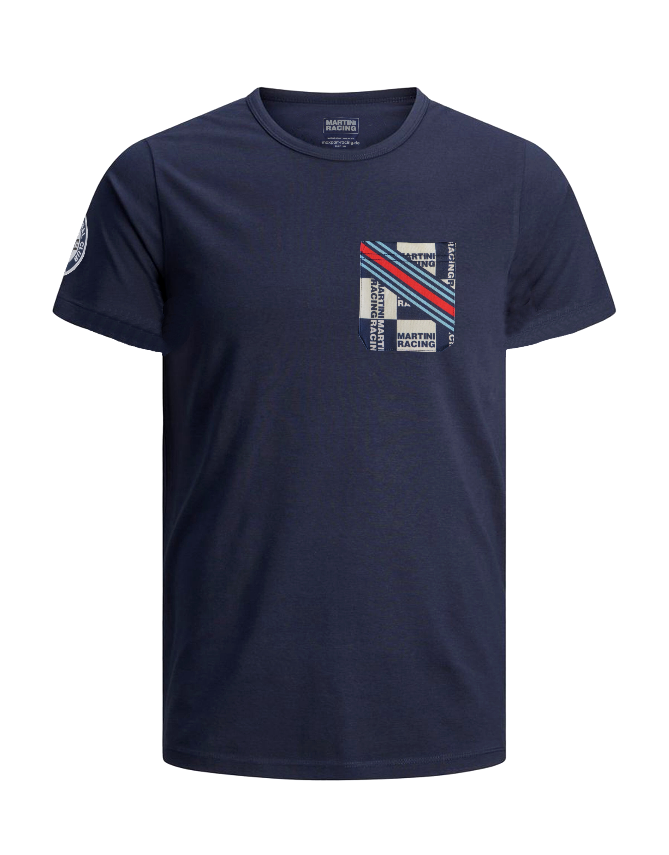 MARTINI RACING Pocket T-Shirt navy