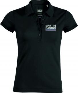 325MARTINI RACING Sportline Polo Ladies black
