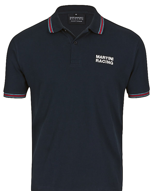 620MARTINI RACING Polo navy