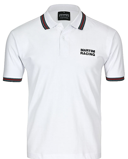 620MARTINI RACING Polo white