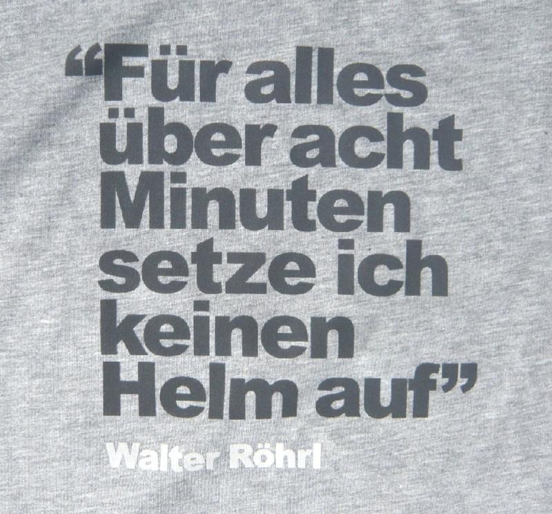 Maxpart Racing Walter Rohrl Collection T Shirt Rundenzeit Grau